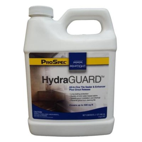 AquaTight 32 oz. HydraGUARD Grout Concrete Paver Cement and Tile All-in-One Stain Efflorescence and Waterproofer