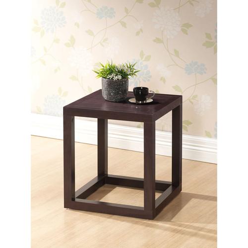 Baxton Studio Nightstands & Bedside Tables Hallis Brown Modern Nightstand