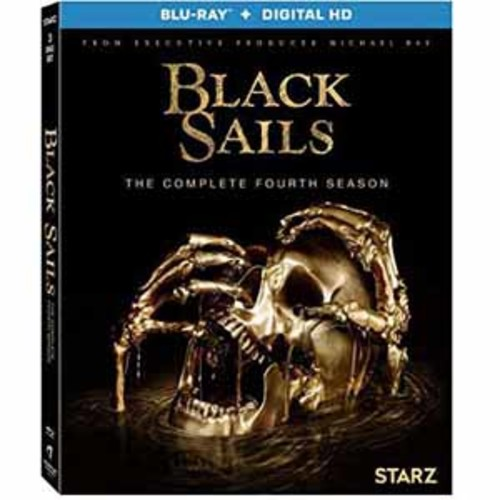 Black Sails: The Complete Fourth Season [Blu-Ray] [Digital HD]