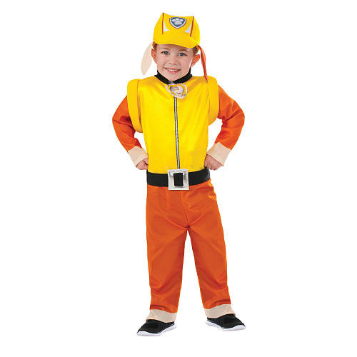 Paw Patrol Rubble Child Halloween Costume - Toddler/Child Size