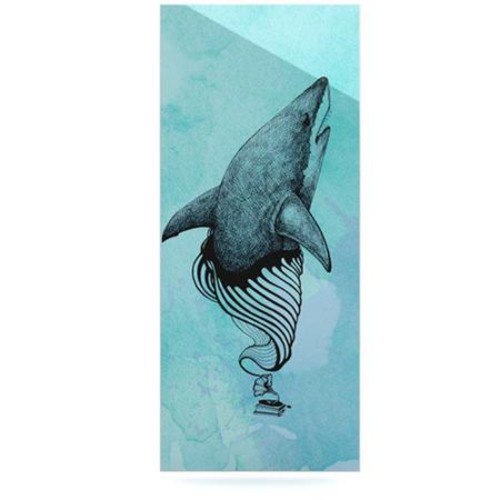 KESS InHouse Shark Record III by Graham Curran Graphic Art Plaque