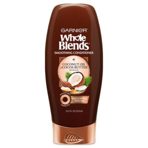 Garnier Whole Blends 12.5 oz. Smoothing Conditioner with Coconut Oil & Cocoa Butter