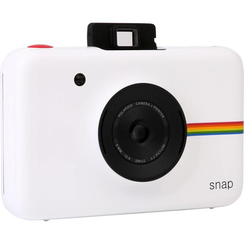 Polaroid SNAP 10MP Instant Digital Camera, White POLSP01W