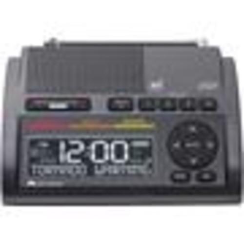 Midland WR400 Deluxe NOAA weather alert radio and dual alarm clock