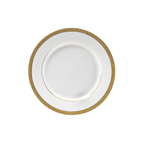 10 Strawberry Street Athens Gold Salad/ Dessert Plate (Set of 6)