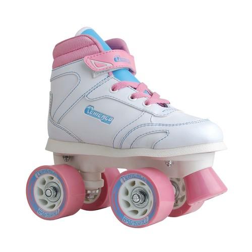 Chicago Girls Sidewalk Skate White