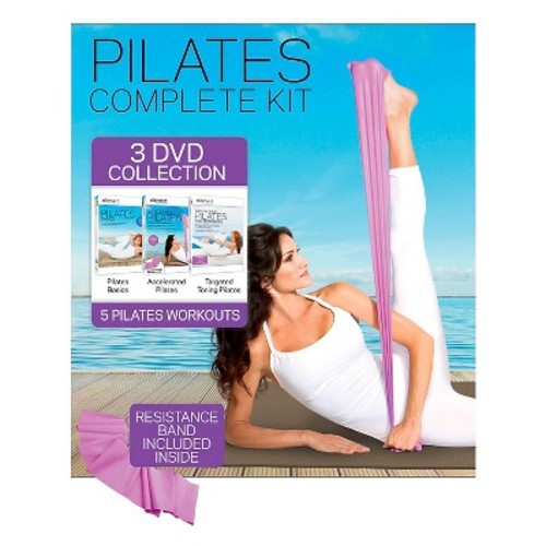 Element Pilates Complete Kit Collection - 3 Discs (DVD)