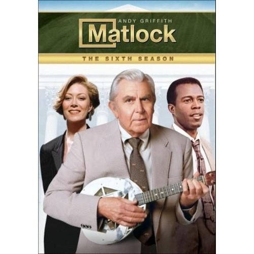 Matlock: The Sixth Season [6 Discs] [DVD]