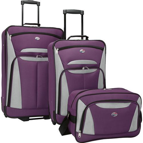 American Tourister Fieldbrook II 3-Piece Nested Luggage Set