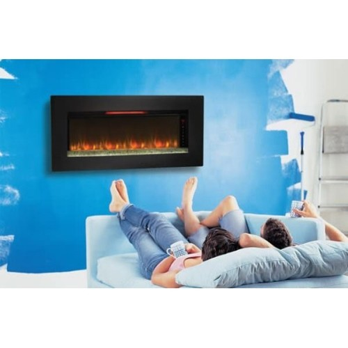 Felicity Wall Mount Electric Fireplace