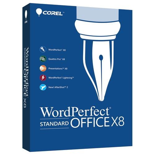 WordPerfect Office X8 Standard Edition - Box pack - 1 user - DVD ( mini-box ) - Win - English, French
