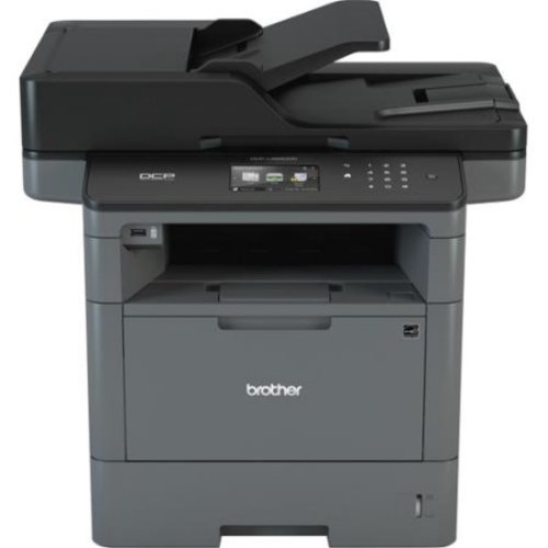 Brother DCP-L5650DN Laser Multifunction Printer - Monochrome - Plain Paper Print - Desktop - Copier/Printer/Scanner - 42