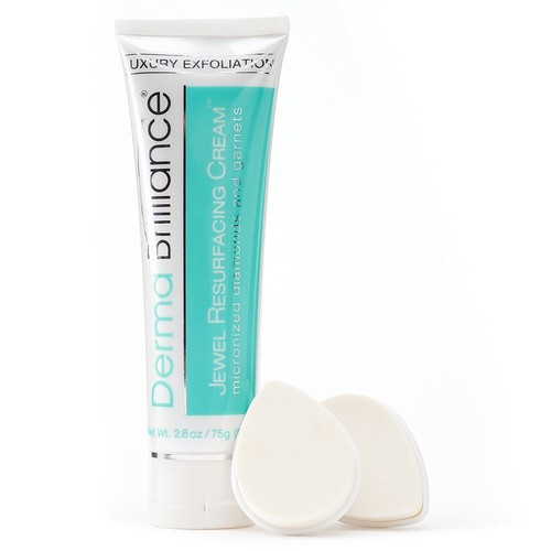 DermaBrilliance Jewel Resurfacing Cream & Foam Brush Heads