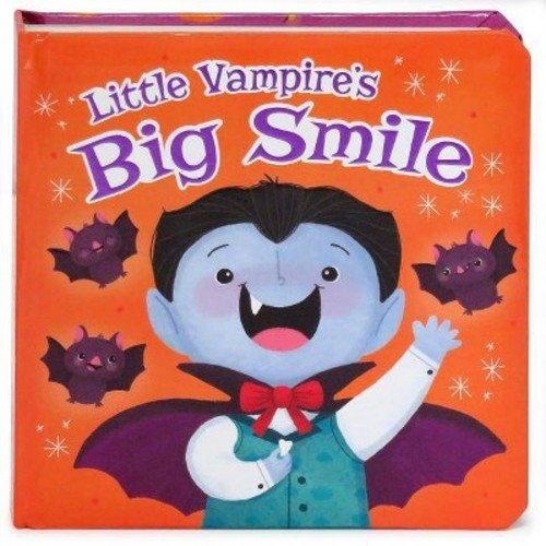 Little Vampire's Big Smile (Board Book) (Rosa Vonfeder)