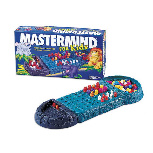 Pressman Toy Critical Thinking Game, Mastermind For Kid's