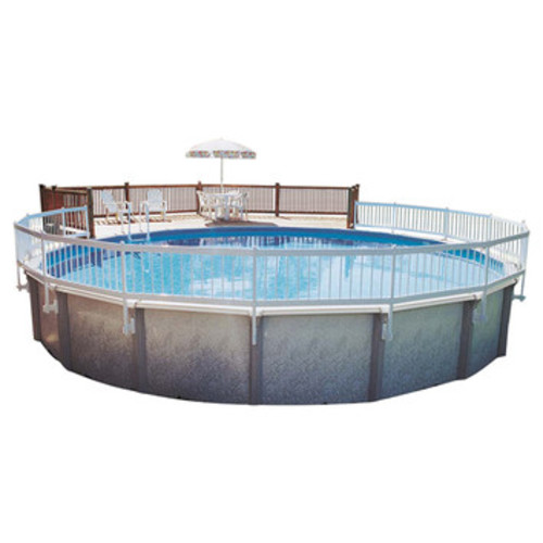 GLI Pool Products Above Ground Pool Fence Add-On Kit [Sections : Kit C]