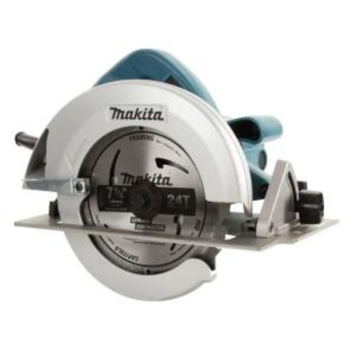 Makita 15 Amp 7-1/4 in. Corded Circular Saw w/ Dust Port, 2 LED Lights, 24T Carbide Blade