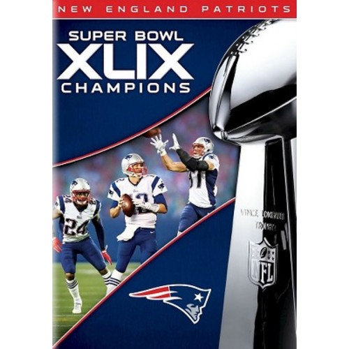NFL: Super Bowl Champions XLIX [Blu-ray] [DVD] [2015]