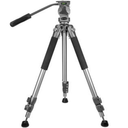 BARSKA AF10738 Professional Tripod Extendable to 66 Carrying Case