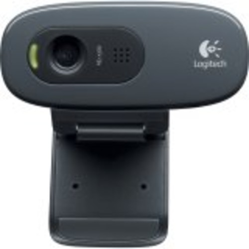 Logitech 960-000694 C270 Widescreen HD Webcam and 3 MP designed for HD Video Calling and Recording: Computers & Accessories