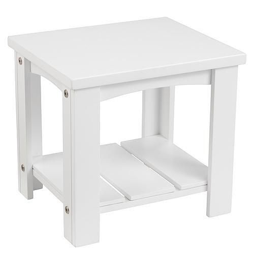 KidKraft Addison Toddler Side Table - White