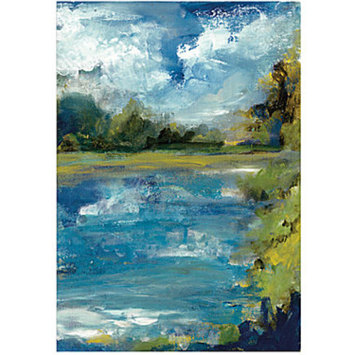 Bruce Bain 'Calm Waters' Canvas Wall Art