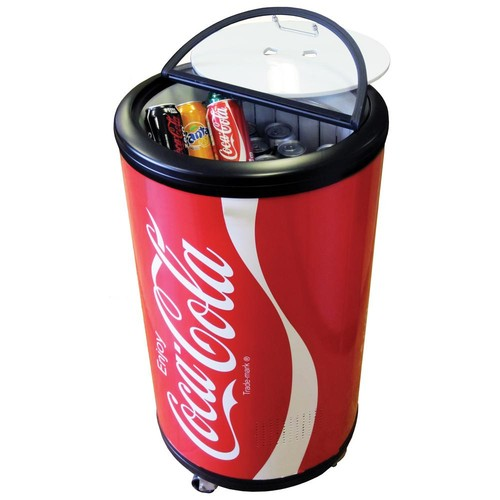 Coca-Cola 1.77 cu. ft. Mini Refrigerator in Red