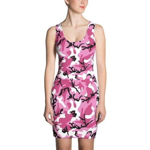 Women's Pink CAMO Dress