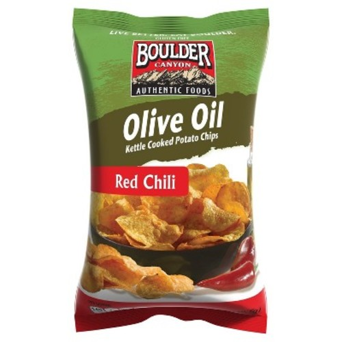 Boulder Canyon Red Chili Olive Oil Kettle Cooked Potato Chips - 5.25oz