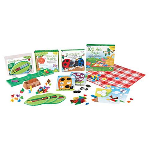 Learning Resources Common Core Critters Kindergarten Bundle, Bug Theme, Kindergarten