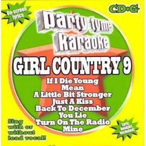 PARTY TYME KARAOKE: GIRL COUNTRY 9 / VARIOUS