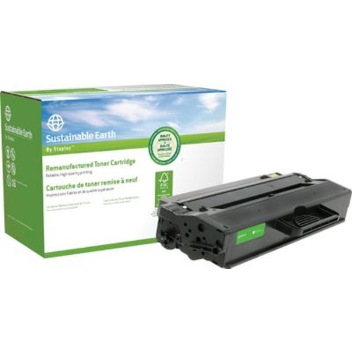 Sustainable Earth by Staples Reman Laser Toner Cartridge, Samsung MLT-D103, Black, High Yield