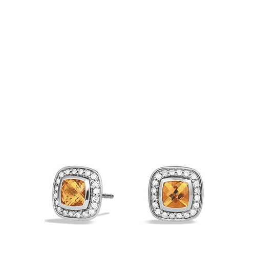 'Albion' Petite Earrings with Diamonds
