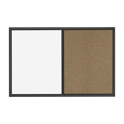 Quartet Combination Dry-Erase/Cork Bulletin Board, 24