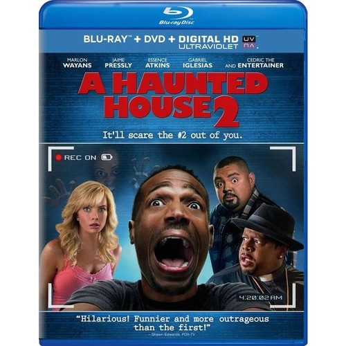 A Haunted House 2 (Blu-ray Disc)