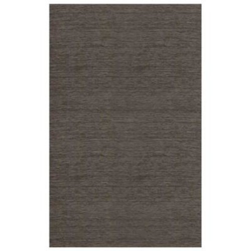 Ruggable Washable Solid Rich Grey 5 ft. x 7 ft. Stain Resistant Area Rug