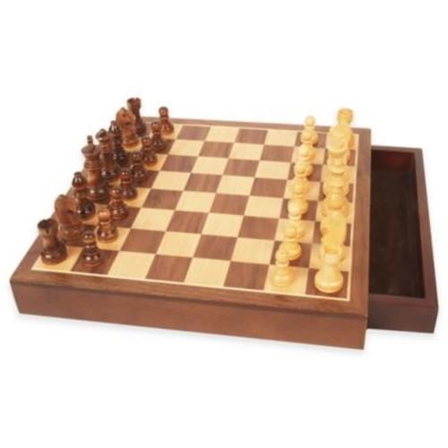 Walnut Wood Chess Set