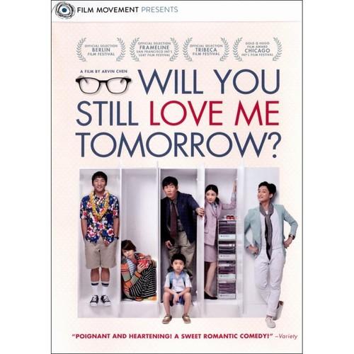 Will You Still Love Me Tomorrow? [DVD] [2013]
