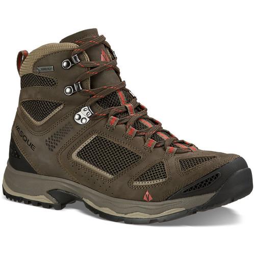 VASQUE Mens Breeze III GTX Hiking Shoes, Wide, Black Olive