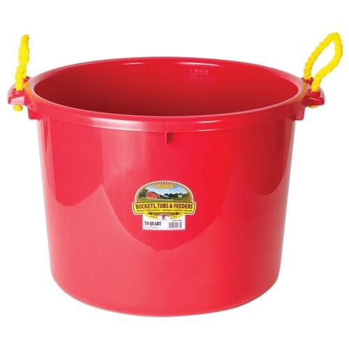 Little Giant Farm & Ag 70 Quart Red Muck Bucket