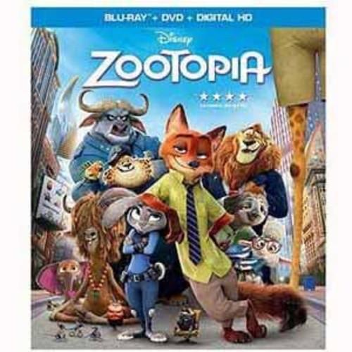 Zootopia [BD +DVD+ Digital HD]