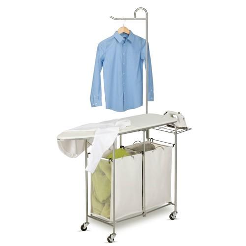 Honey-Can-Do Foldable Ironing Laundry Center and Valet
