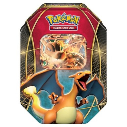 Pokemon Trading Card Game Charizard EX Booster Pack with Collectable Tin
