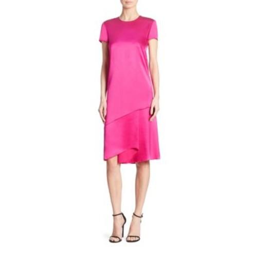 RALPH LAUREN COLLECTION Chandra Mulberry Silk Dress