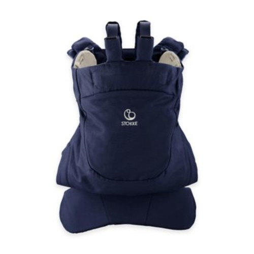 Stokke MyCarrier Front Baby Carrier in Deep Blue
