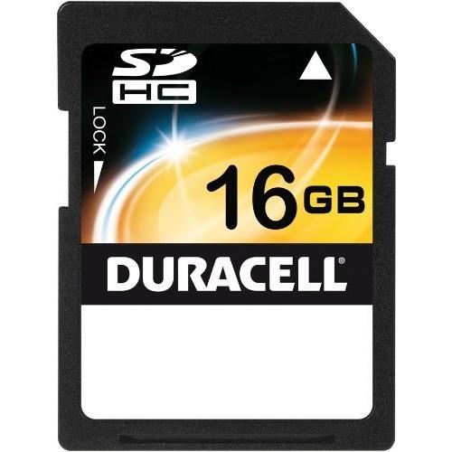 Duracell 16 Gb Secure Digital Flash Memory Card Du-Sd016Gcm-C