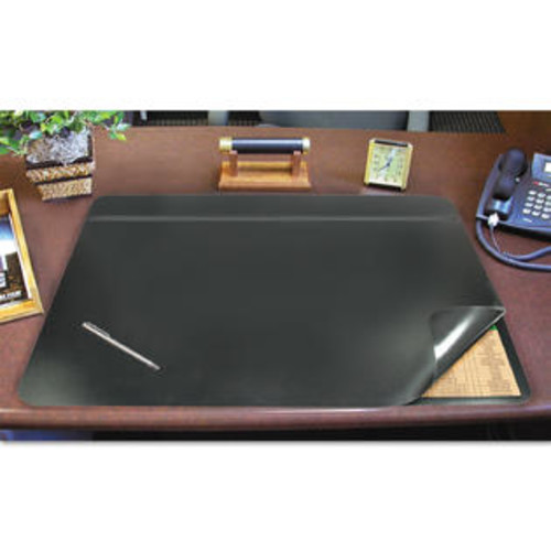 Artistic Hide-Away PVC Desk Pad 31 x 20 Black