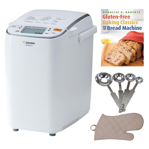 Zojirushi BB-SSC10 Home Bakery Maestro Breadmaker + Bread Book and more