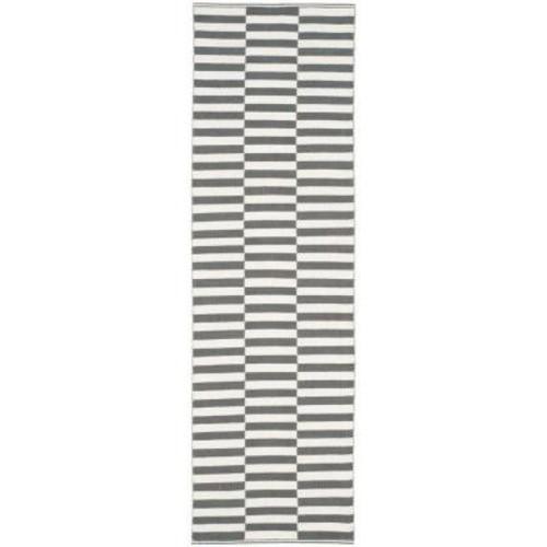 Safavieh Montauk Ivory/Gray 2 ft. x 7 ft. Runner Rug