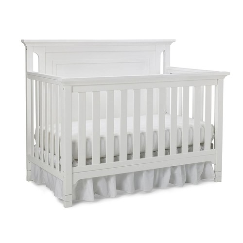 Ti Amo Carino Convertible Crib - Snow White